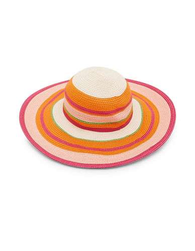 Ted Baker London Sommer Stripe Sun Hat-FUCHSIA-One Size