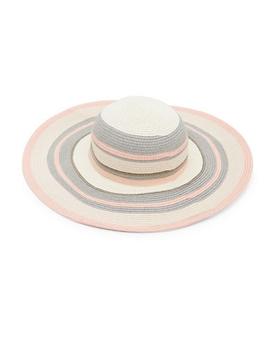 Ted Baker London Sommer Stripe Sun Hat-NATURAL-One Size