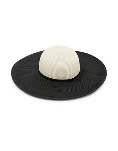 Ted Baker London Two Tone Sun Hat-BLACK-One Size