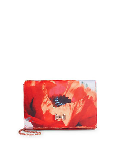 Ted Baker London Poppy Crossbody Bag-RED-One Size