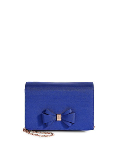 Ted Baker London Kiana Bow Crossbody Bag-BLUE-One Size