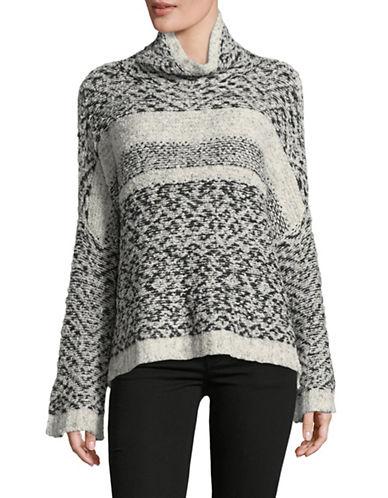 Line Selma Turtleneck Sweater-BLACK MULTI-Large