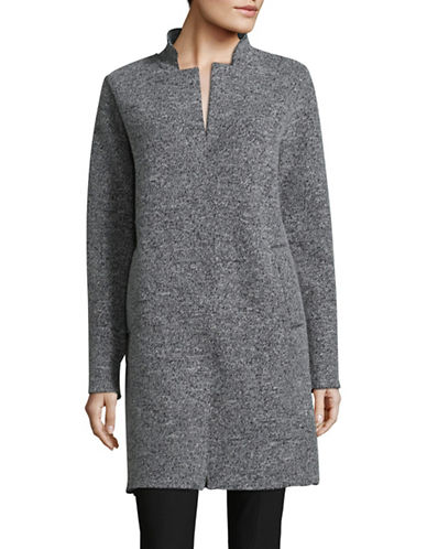 Line Blythe Wool-Blend Coat-GREY-Medium