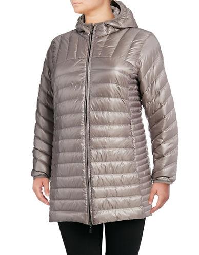Bianca Nygard Leonardo Packable Puffer Coat-OYSTER-3X