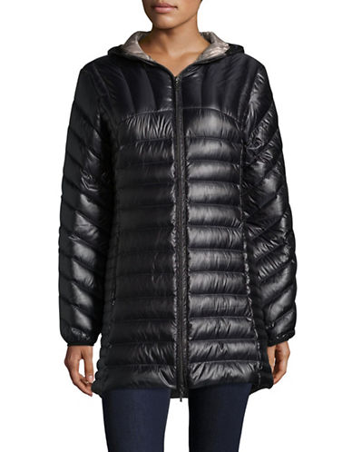 Bianca Nygard Leonardo Packable Puffer Coat-BLACK-Medium