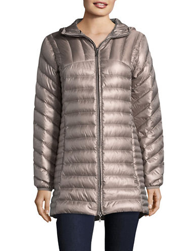 Bianca Nygard Leonardo Packable Puffer Coat-OYSTER-Large