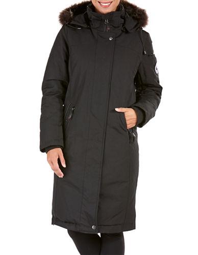 Arctic Expedition Coyote Fur Long Down Coat-BLACK-Large 88693188_BLACK_Large