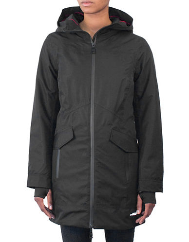Arctic Expedition Radiant Raincoat-BLACK-Large