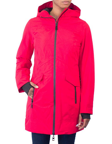 Arctic Expedition Radiant Raincoat-RED-X-Small