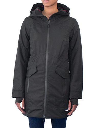 Arctic Expedition Waterproof Insulated Walker Coat-BLACK-2X