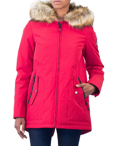 Arctic Expedition Kodiak Down Jacket-RED-2X