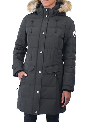 Arctic Expedition Kodiak Down Parka-BLACK-2X