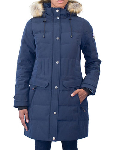 Arctic Expedition Kodiak Down Parka-NAVY-1X