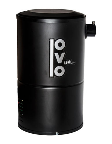 Ovo Airwatts Condo Central Vacuum-BLACK-One Size