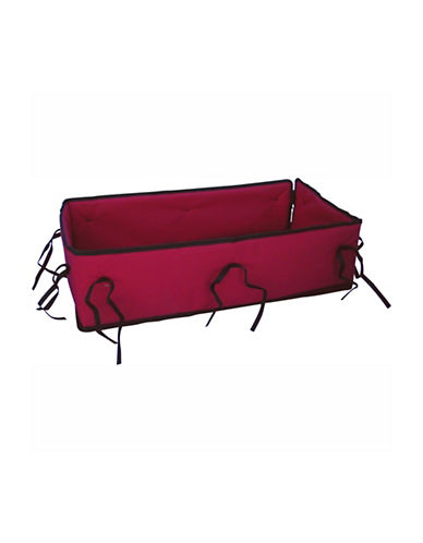 Millside 20x38-Inch Wagon Pad Set-RED-One Size