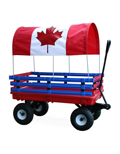 Millside Canada Trekker Wagon-RED-One Size