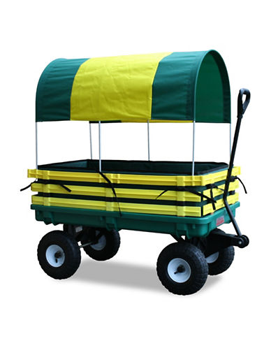 Millside 20x38-Inch Trekker Wagon-GREEN-One Size