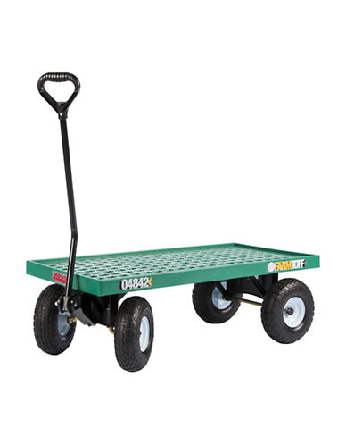 Millside Flat Deck Wagon-GREEN-One Size