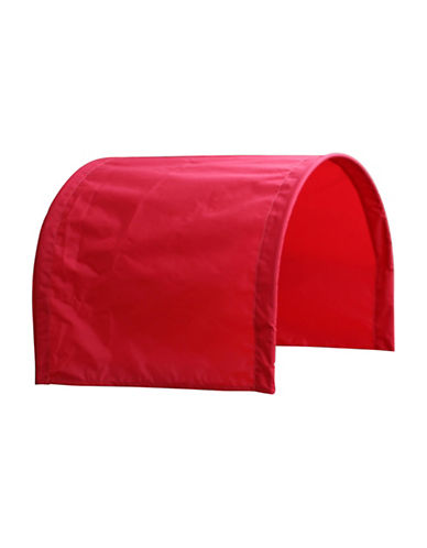Millside Nylon Half Canopy-RED-One Size