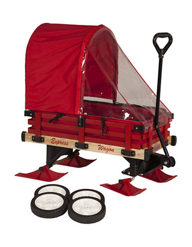Millside Deluxe Convertible Wagon-RED-One Size