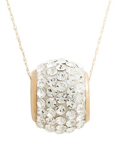 Fine Jewellery 14K Yellow Gold Slider Ball Pendant-YELLOW GOLD-One Size