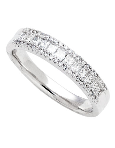 Fine Jewellery 14K White Gold 0.50ct Diamond Ring-WHITE GOLD-7