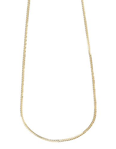 Fine Jewellery 14K Yellow Gold Spiga Link Chain Necklace-YELLOW GOLD-One Size