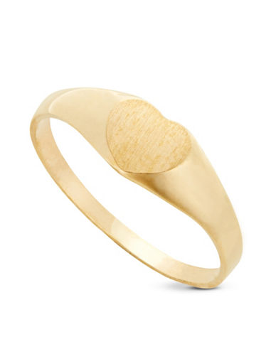 Fine Jewellery Childrens 10kt Yellow Gold Ring-YELLOW-4