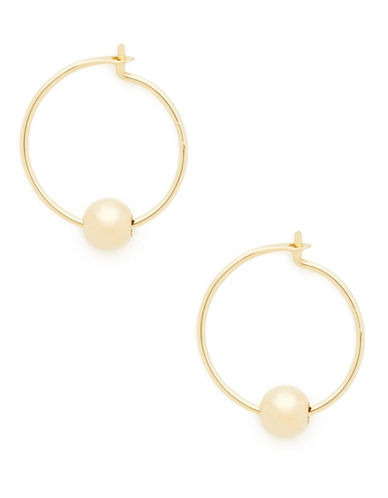 Fine Jewellery Childrens 14kt Yellow Gold Hoops-YELLOW GOLD-One Size