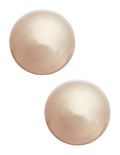 Fine Jewellery Girls 14K Pink Pearl Stud Earrings-PEARL-One Size