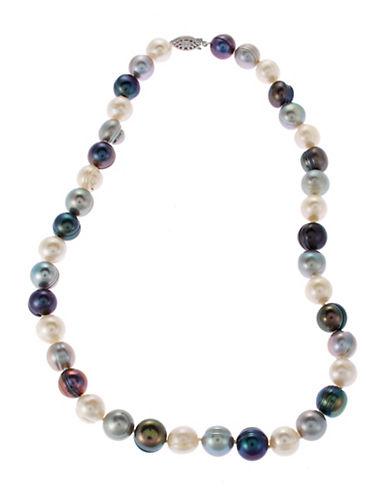Fine Jewellery Multi Coloured Pearl Strand Necklace-MULTI COLOURED-One Size