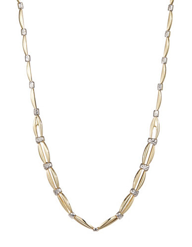 Fine Jewellery 14K Open Link Necklace-YELLOW GOLD-One Size