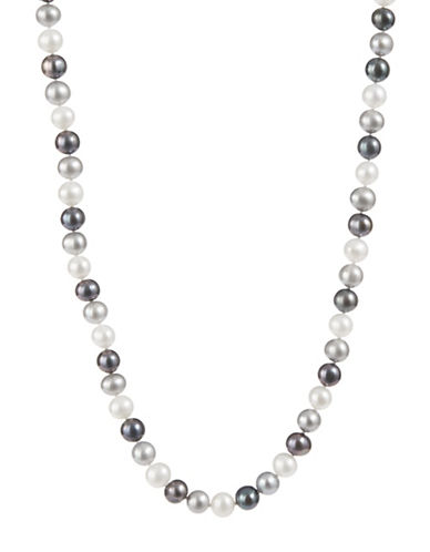 Fine Jewellery Multi Colour Freshwater Pearl Necklace-PEARL-One Size