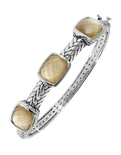 Fine Jewellery Sterling Silver Bangle-SILVER-One Size