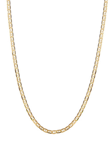 Fine Jewellery Mens 10K Yellow Gold Bar Necklace-YELLOW GOLD-One Size