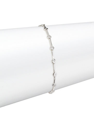 Fine Jewellery 14K White Gold Constellation Bracelet-CUBIC ZIRCONIA-One Size