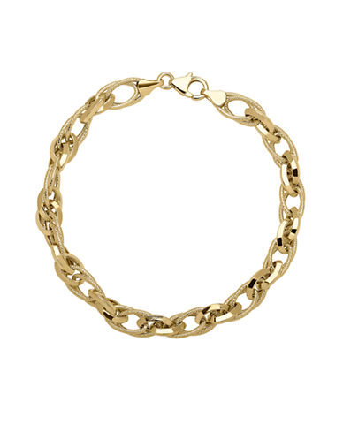 Fine Jewellery 14k Yellow Gold Bracelet-YELLOW GOLD-One Size