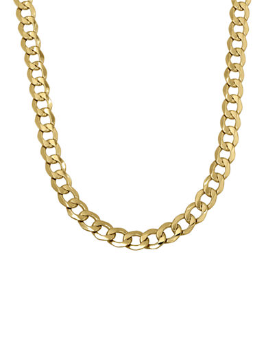 Fine Jewellery Mens 14K Gold Link Chain-YELLOW GOLD-One Size