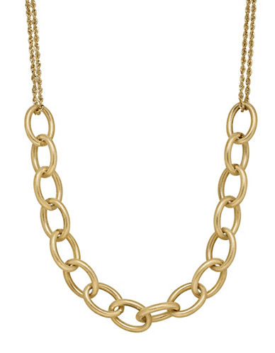 Fine Jewellery 14K Yellow Gold Chain Necklace-YELLOW-One Size