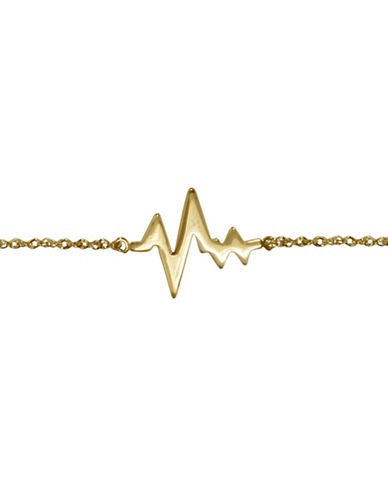 Fine Jewellery 14K Yellow Gold My Beating Heart Bracelet-YELLOW GOLD-One Size