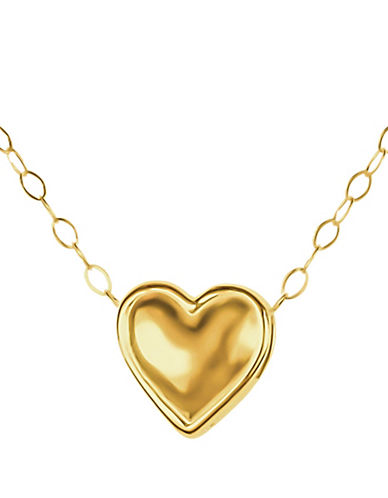 Fine Jewellery 14K Yellow Gold Pendant Necklace-YELLOW GOLD-One Size
