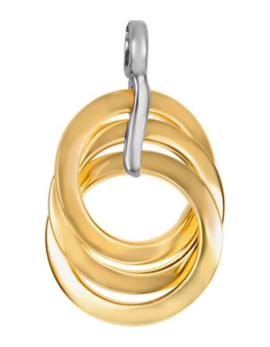 Fine Jewellery 14KT Charm Pendant-GOLD-One Size