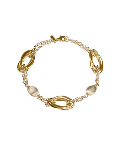 Fine Jewellery 14KT Yellow Gold Bracelet-GOLD-One Size