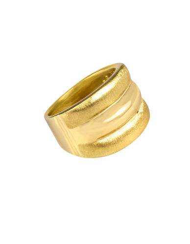 Fine Jewellery 14K Yellow Gold Triple-Rib Ring-GOLD-7