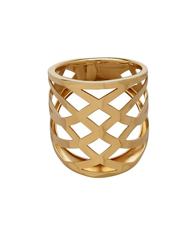 Fine Jewellery 14K Yellow Gold Openwork Ring-GOLD-7