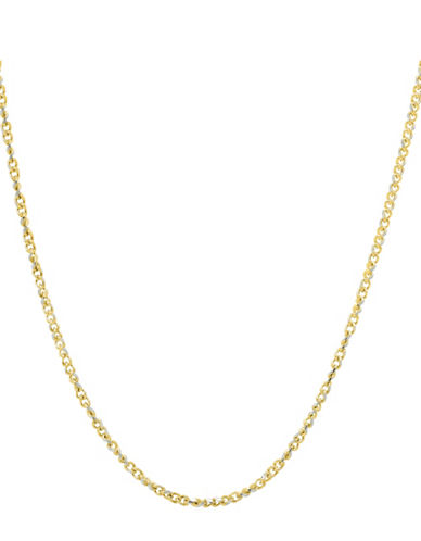 Finecraft Ii 14K Yellow Gold Curb Chain-YELLOW GOLD-One Size