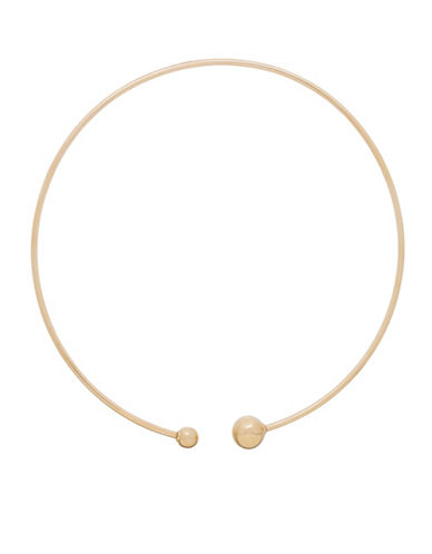 Fine Jewellery 14K Gold Collar Necklace-YELLOW GOLD-One Size