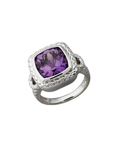 Fine Jewellery Sterling Silver Amethyst Ring-AMETHYST-7
