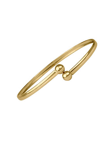 Fine Jewellery 14K Yellow Gold Bangle-GOLD-One Size
