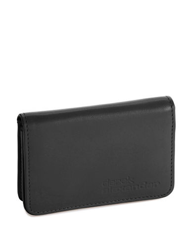 DEREK ALEXANDER Simple Business Card  Credit Card Case black
